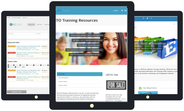 RTO Training Resources for Sale includes RTO LMS