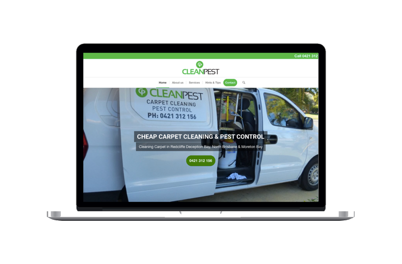 Carpet Cleaning Web Designs